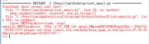 谁帮忙看看python selenium2示例 - email的问题