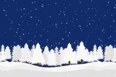47 - 复刻记忆中的初雪 |【canvas入门佳品】